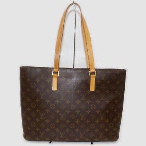 Louis Vuitton Tote Bag Luco M51155 Browns Monogram 1513925