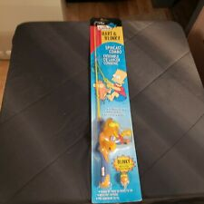 "The Simpsons Bart & Blinky Spincast Combo Fishing Pole 2'6"" Fiberglass Rod"