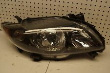 2009 2010 Toyota Corolla LE Black Right Passenger Side headlight Lamp OEM