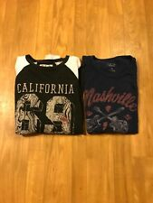 Lucky Brand T-Shirts Men's Size XL Lot Of 2