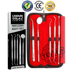 Dental Tooth Cleaning Kit Dentist Scraper Pick Tool Calculus Plaque Flos Remover