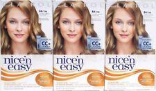 3 Clairol 8A Nice'n Easy Permanent Hair Dye 8A/106 Natural Medium Ash Blonde