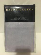 New Ralph Lauren RL LUXURY OXFORD Full Flat Sheet - Lavendar Lavender $130 NIP