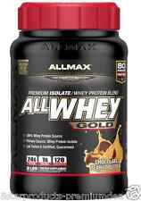 NEW ALLMAX NUTRITION ALLWHEY GOLD 100% PROTEIN SOURCE WHEY ISOLATE POWDER KOSHER