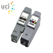2 Ink Cartridge for CANON BCI-24 Jet MP200 MP360 MPC200 i250 S200X S300 BJC-2000