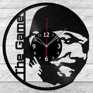 Vinyl Clock The Game Vinyl Record Wall Clock Home Art Decor Handmade 4929