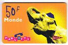 FRANCE TELECARTE / PHONECARD PREPAYEE .. 50F KERTEL ELEPHANT ELEFANT