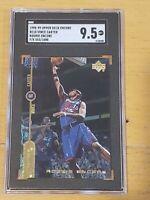 1998 Upper Deck Encore Gold F/X Vince Carter /1000 SGC 9.5 RC Rookie