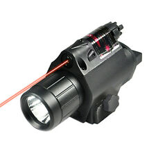 Tactical Laser Sight and LED Light for Picatinny Rail Mount Red Laser Hunting