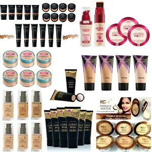 RIMMEL / MAXFACTOR / REVLON / MAYBELLINE / KG / LOREAL FOUNDATION *CHOOSE SHADE*