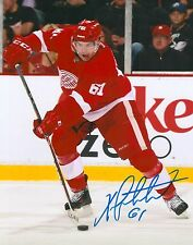 XAVIER OUELLET signed DETROIT RED WINGS 8X10 photo w/ COA