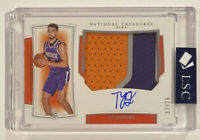 Ty Jerome Panini National Treasures Rookie Patch Auto 17/75 Horizontal True RPA