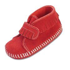 Infants Minne Tonka Red Strap Bootie Size 2