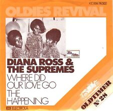 DIANA ROSS & SUPREMES The Happening & Where Did Our Love Go PICTURE SLEEVE NEW