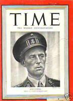 "1940 Time May 20-Churchill takes over -""Tears"" speech"