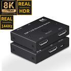 8K Displayport 1.4 Bi-direction Switch Splitter 1X2 or 2x1 DP Switcher 8K@30Hz