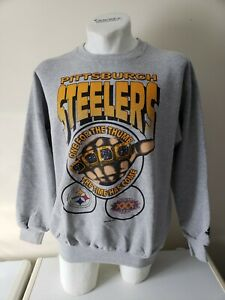 Super Bowl XXX 30 Pittsburgh Steelers Vintage One for the Thumb Sweatshirt Shirt