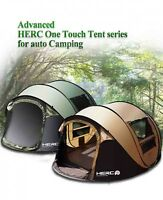 Automatic Large Family Tent 5-6 People Camping Throwing Pop Up Second Open Tent