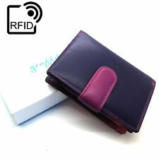 RFID Safe Golunski Graffiti Range Quality Multi Coloured Purse 44 china rose