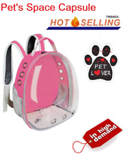 Cat Dog Pet Puppy Portable Carrier Backpack Bag Outdoor Travel Capsule Breathabl