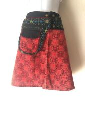 Retro Mini Skirt Festival Psy Trance Rave Hippie Gypsy Fanny Bag Fair trade  SW3