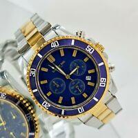 Orologio Cronografo Uomo Touch Me Quadrante Blu