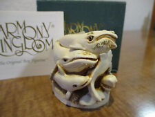 Harmony Kingdom Boarding School Whales Sharks Dolphins Uk Made Buying Group Exc