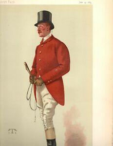 ENGLISH HORSEMAN Race Winning Jockey FOX HUNTER Captain WILLIAM GEORGE MIDDLETON