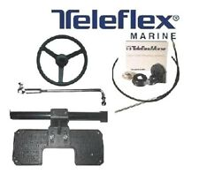 TELEFLEX BOAT STEERING KIT SYSTEM CABLE WITH TRANSOM KIT ARM OUTBOARD MAX 53 HP