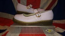Rare*QQ Pearl Pink Lilac Dr Doc Martens Shoes*Mary Janes*Quirky*Kitsch*Kawaii*9