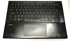Sony Vaio SVS13A Palmrest Touchpad Cover UK Backlit Keyboard