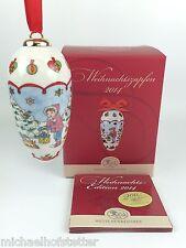 Hutschenreuther Porzellan Weihnachtszapfen Zapfen 2014 mit Verpackung OVP NEU