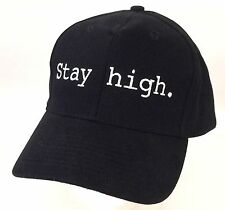Tove Lo Stay High Embroidered Black Baseball Hat Cap New Official Adjustable