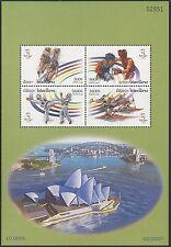 LAOS Bloc N°152**  Jeux Olympiques de Sydney, 2000, Olympic Sheet Sc#1454a MNH