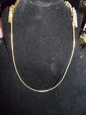 Rhinestone Crystal Gold Tone Necklace Spring Wedding Vintage Antique Designer