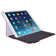 Logitech Ultrathin Keyboard Folio for iPad Air -Thin & Light Folio Case Mars Red