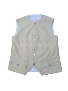 Revolutionary war off white waist coat