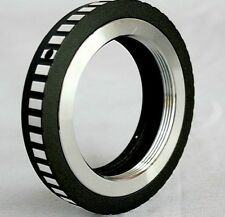 M39 LTM LSM Leica Screw Lens to Fujifilm X-Pro1 X-E1 FX Lens Mount Adapter M39FX
