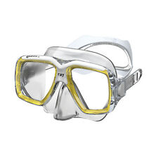 Mares Ray Mask ,FreeDive, Scuba, Diving Dive Yellow White Clear