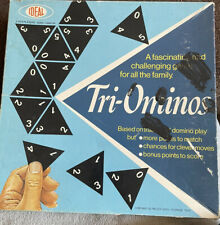Classic Board Game Tri-Ominos - Triominos - Based on Traditional Dominos 1968