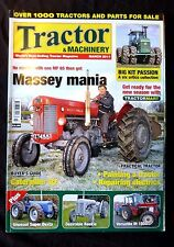 Tractor & Machinery, March 2011. Massy Mania, painting a tractor, Caterpillar D2