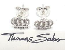 Thomas Sabo Damen Ohrstecker UVP-49,00 € 925er Silber Krone H1879-051-14