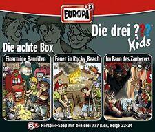 DIE DREI ??? KIDS - 08/3ER BOX (FOLGEN 22-24) 3 CD NEU