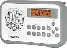 Sangean Tragbarem Radio mit Netzbetrieben