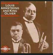 Armstrong/Oliver - Louis Armstrong & King Oliver [CD New] UNWRAPPED BUT MINT!