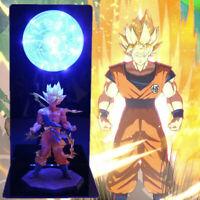 Dragon Ball Z Saiyan 2 Goku Figure Collection LED Table Lamp Birthday Xmas Gift