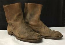 0af84f550700 Vintage Sears Roebuck Wearmaster Leather Boots Size 11 Mens