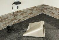 "Assurance Brand Nickel-Copper Conduction Fabric 40"" x 40"" RF/ RFID Blocking"