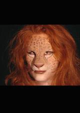 Big Cat Prosthetic Lion Application Make-Up