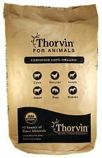 Thorvin Organic Icelandic Kelp Meal 50 lbs-Plants, Livestock, Horses, Dogs, Cats